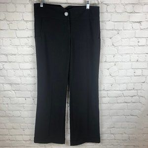 Grass Collection Black Wide Pants - 7 - Junior